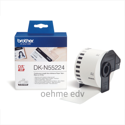 Brother Endlospapierrolle DK-N55224 DKN55224, 54 mm x 30,48 m