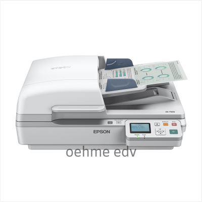 Dokumentenscanner EPSON WorkForce DS-7500N inkl. 1 Jahr vom EPSON Premium Focus Partner