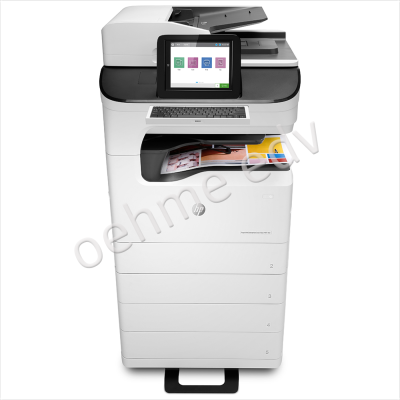 Multifunktionsgerät HP PageWide Enterprise Color Flow MFP 785z+ 4 in 1 Multifunktionsgerät vom HP Silber-Partner